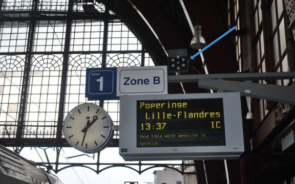 Van Antwerpen-Centraal naar Lille-Flandre (Rijsel), de Franse stad die zich 'la belle flamande' noemt