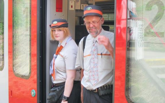 Een trein is maar zo goed als zijn personeel. Volgens de Britse pers zijn de Belgische treinwachters de meest vriendelijke van het continent. Geduldig, informatief, behulpzaam
