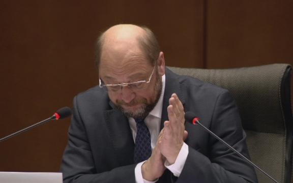 EP-voorzitter Martin Schulz heeft kopzorgen. Zijn eigen sociaaldemocratische fractie staat minder eensgezind achter het TTIP dan hij had gehoopt