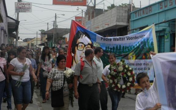 Walter Voordeckers nog steeds herdacht in Guatemala