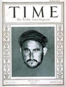 Abdelkrim op de voorpagina van het Amerikaanse tijdschrift Time