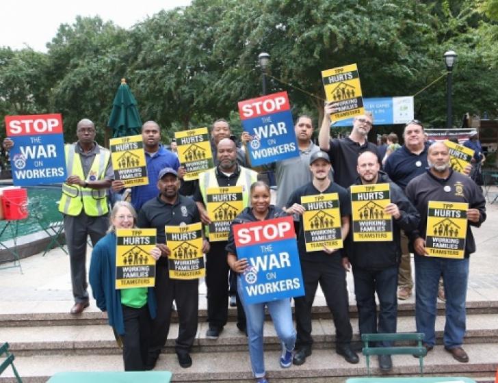 Vakbondsverzet tegen TPP in de VS
