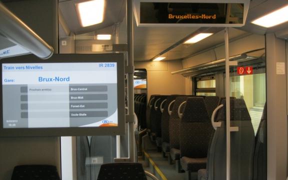 De nieuwe Diabolo-treinen voor het toekomstige Gewestelijke Expressnet rond Brussel zijn volledig ontworpen voor het comfort van de reiziger