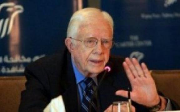 Oud-VS-president Jimmy Carter (1977-1981) heeft een uitgesproken mening over het verkiezingsproces in Venezuela en in zijn eigen land. Voor onze grote media, altijd in de bres voor de democratie, is dat blijkbaar geen nieuws.