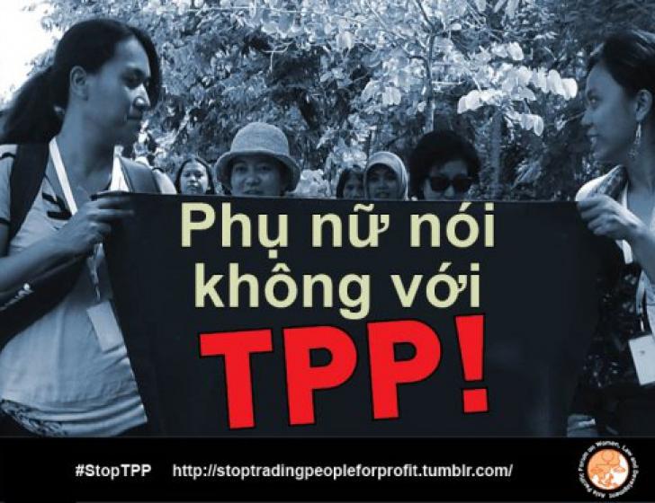 Verzet tegen TPP in Thailand