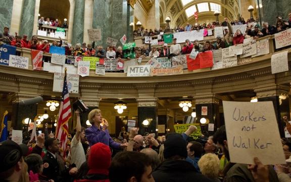 De sociale strijd van Wisconsin gaat ons allen aan