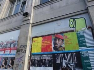 De beeltenis van Sankara duikt nog steeds op in affiches en posters