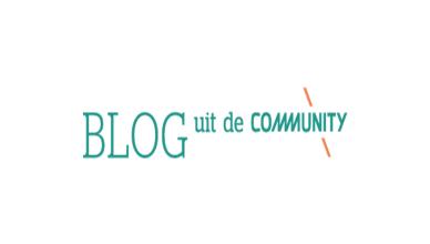 Blog uit de community