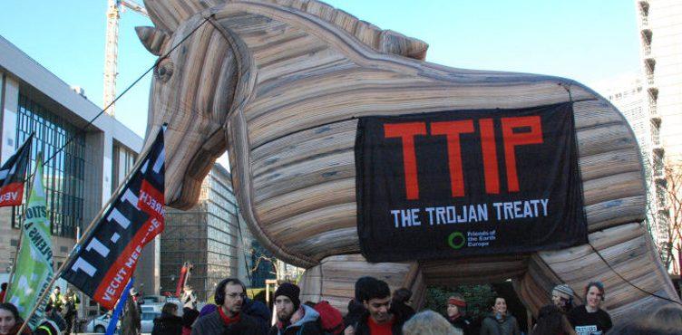 TTIP actie