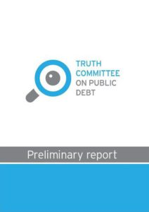 rapport van de parlementaire onderzoekscommissie over de Griekse schuld