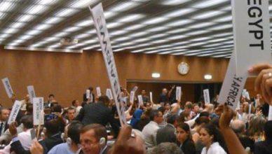 In de Algemene vergadering stemde België tegen een voorstel van verdrag voor een totaal wereldwijd verbod op kernwapens