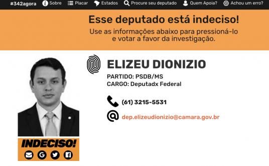Deze volksvertegenwoordiger is nog 'onbeslist (indeciso) over zijn stem voor of tegen de afzetting van president Temer