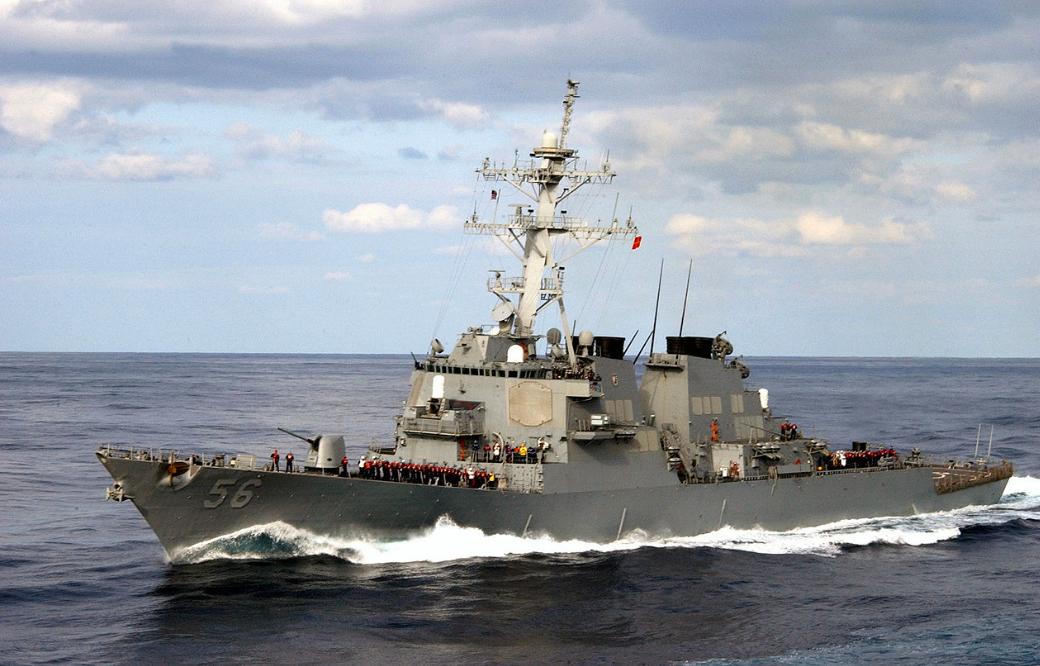 Tien matrozen zijn nog vermist na een aanvaring van de destroyer John McCain met een tankschip in Filipijnse wateren