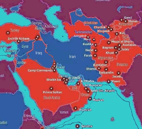 VS-basissen rond Iran