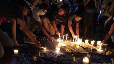Betogers in Managua eren de slachtoffers die vielen tijdens de protesten van april 2018