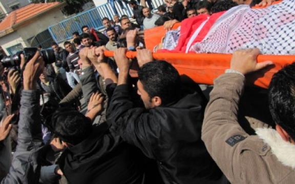 Begrafenis slachtoffer gaza juli 2014