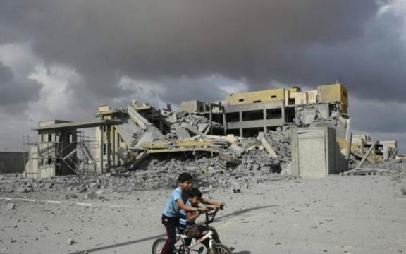Vredesbestand Gaza bescheiden stap in goede richting