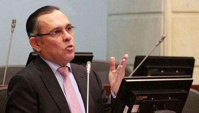 Voorzitter van de Colombiaanse Senaat Efraín Cepeda